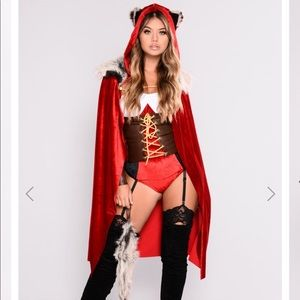 Red Haute Halloween storybook costume